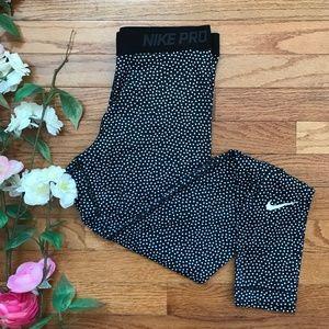 Nike Pro Hyperwarm Womens Black Compression Tights